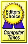 Image of Computer Times Editors' Choice logo
