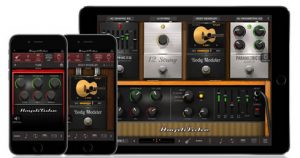 Closeup image of iRig AmpliTube Acoustic App