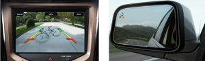 Image of the BLIS® (Blind Spot Information System) with Cross Traffic Alert