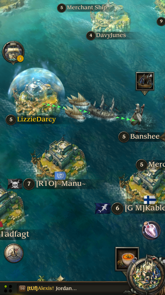 Image of Sea Battle in Pirates TOW