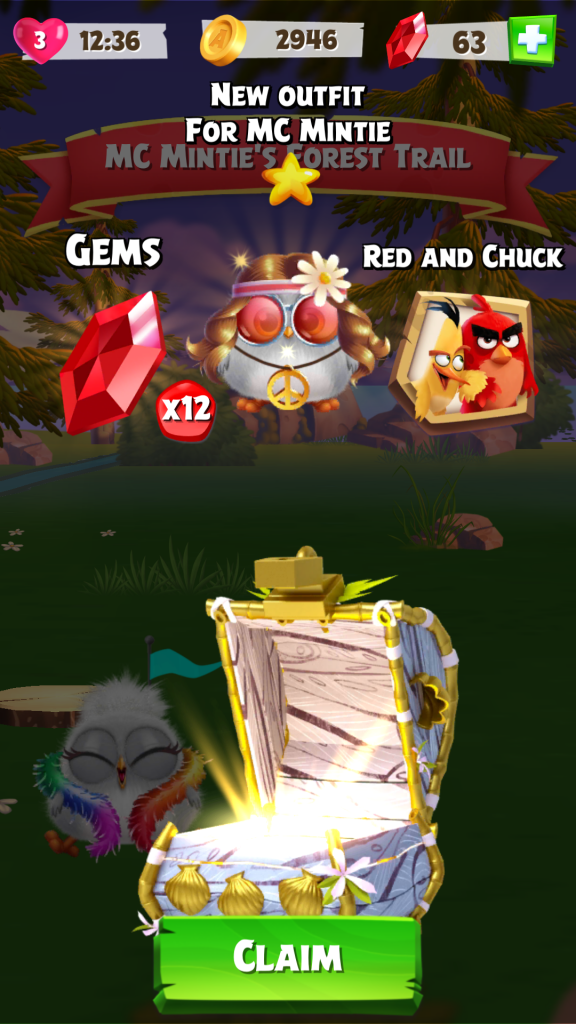 Image of Angry Birds Match Event Bonus Reward Chest
