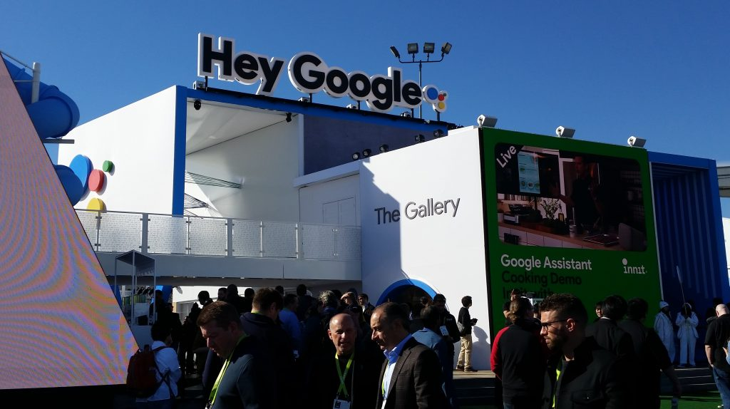 Image of Giant Google Booth at Las Vegas Convention Center