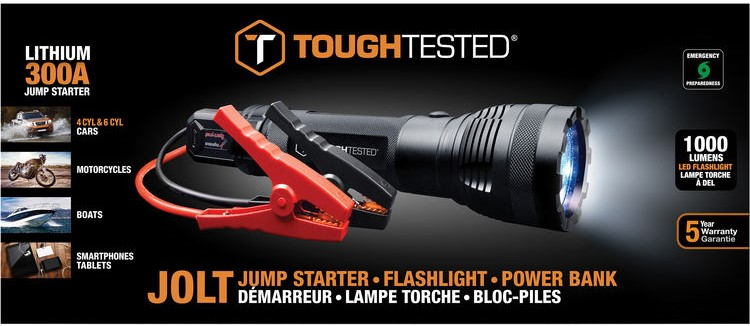 Jolt Car Battery Jumper from Tough Tested, Box Image