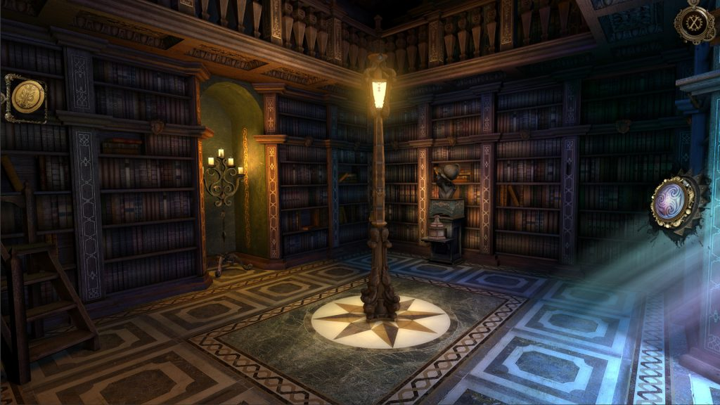 The House of Da Vinci Game Library Screen