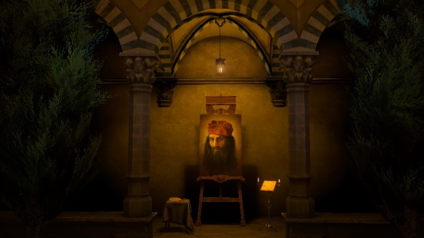 The House of Da Vinci Game Achievements Screen with Portrait