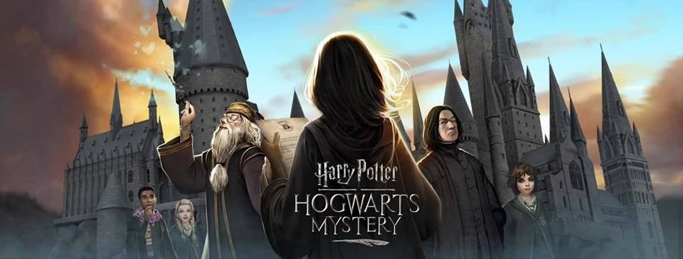 Harry Potter: Hogwarts Mystery Game Logo Screen