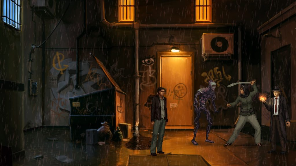Unavowed Male Lead Dark Alley