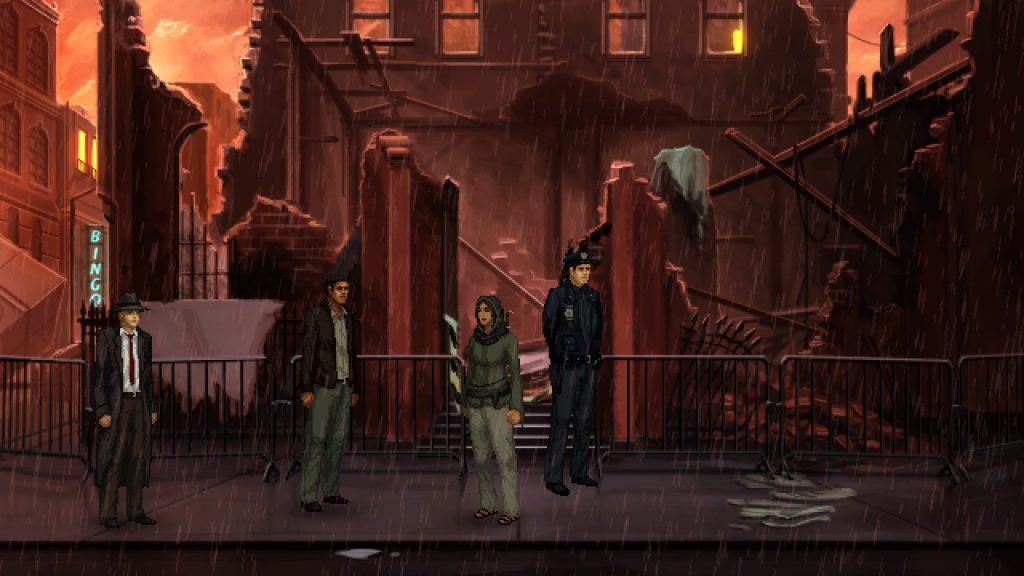 Unavowed Male Lead Burned Out Building