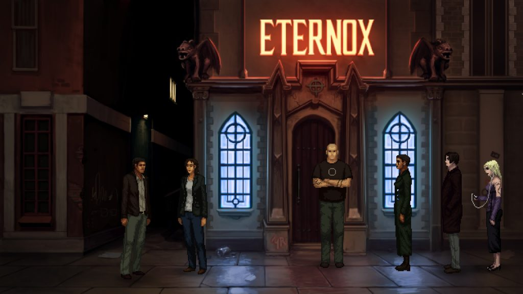 Unavowed Male Lead Club Entrance