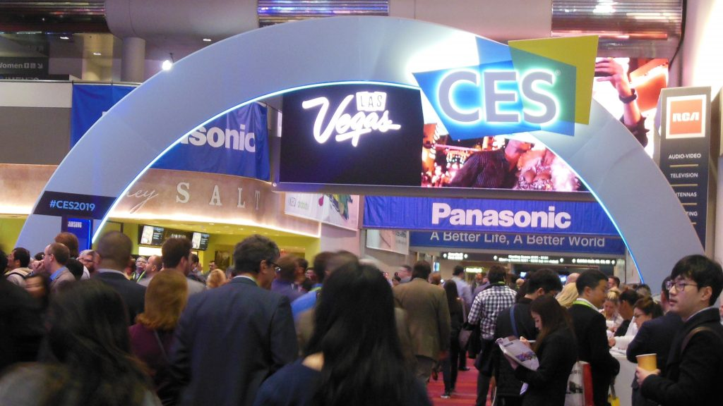 CES Arch Inside Las Vegas Convention Center Central Hall