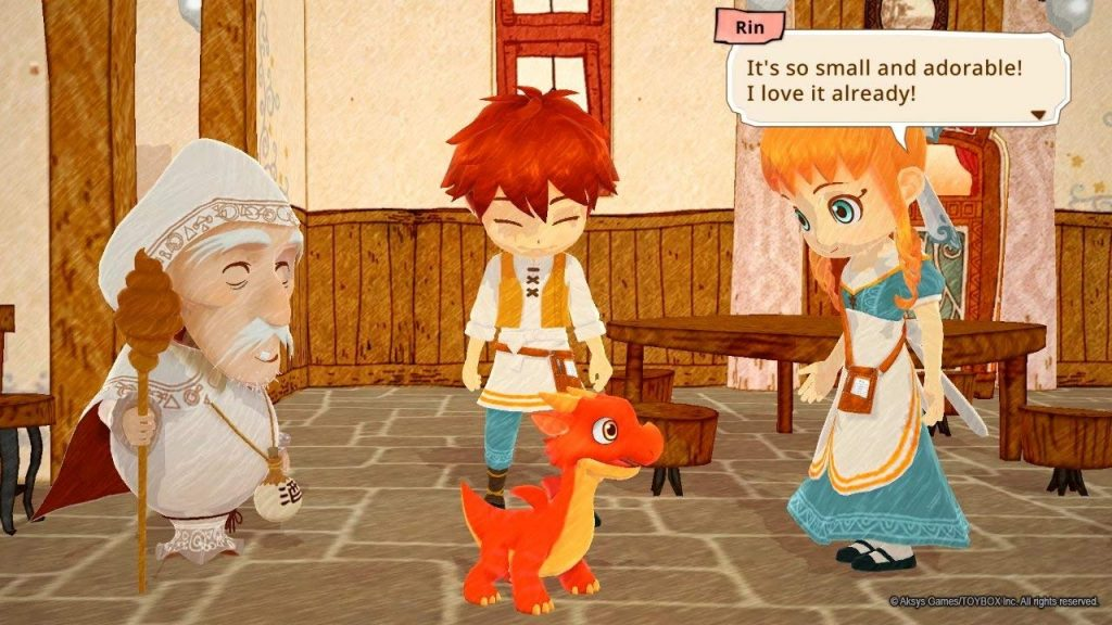 Little Dragons Cafe with Rin, Ren, Old Magician, and Dragon