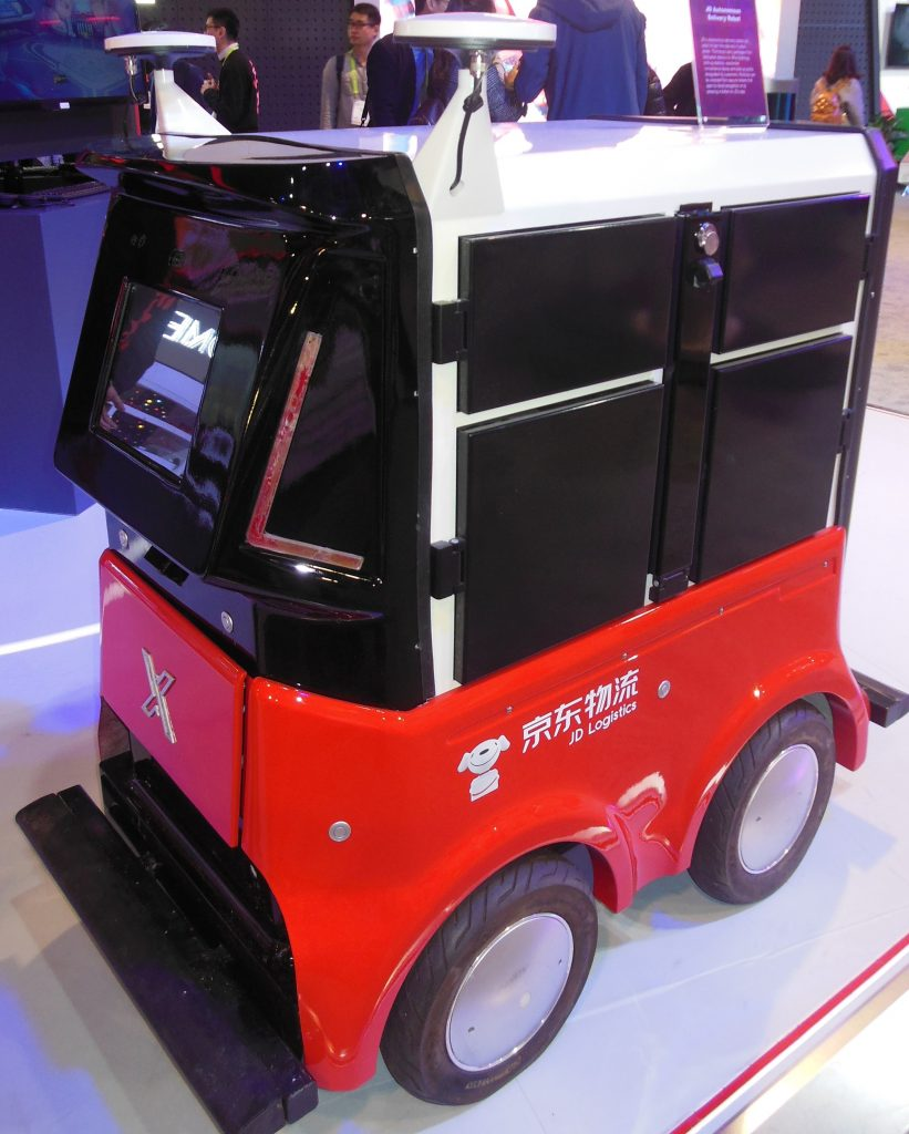 Delivery Drone Vehicle from JD.com