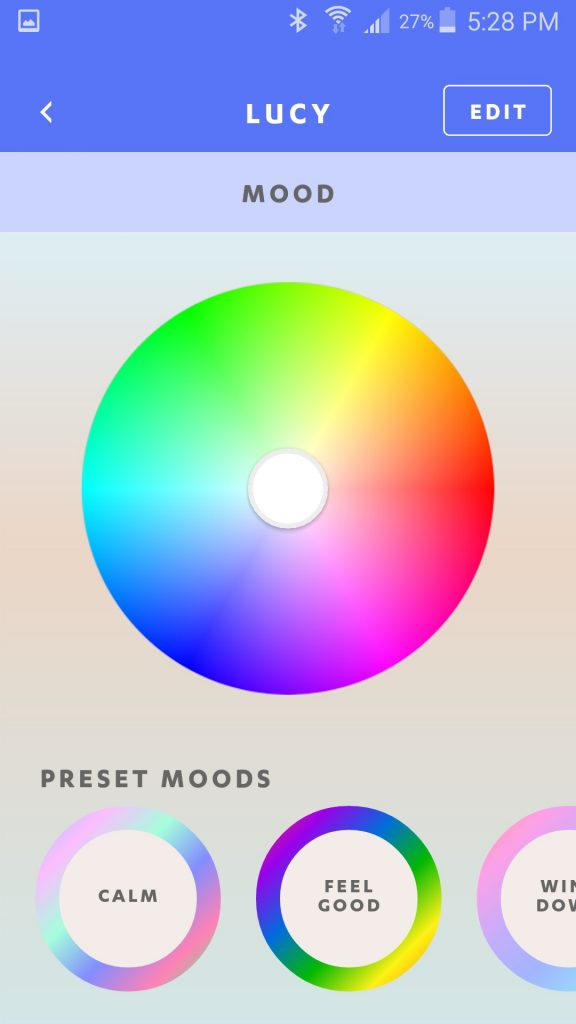 Luci Connect Mood Control Color Wheel
