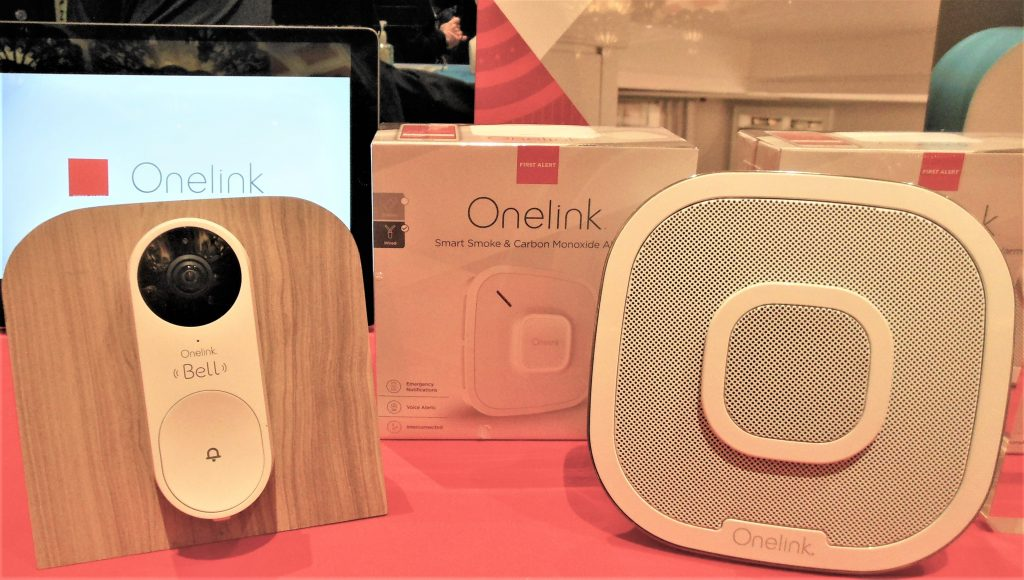 OneLink Bell Security Door Bell and Voice Assistant Hub
