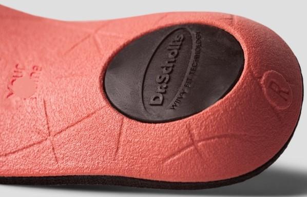 Dr. Scholl's Custom Contour 3D Printed Insoles Heel Cup