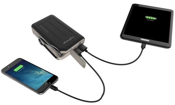 myCharge Adventure Max Portable Power Bank Charging 2 Devices