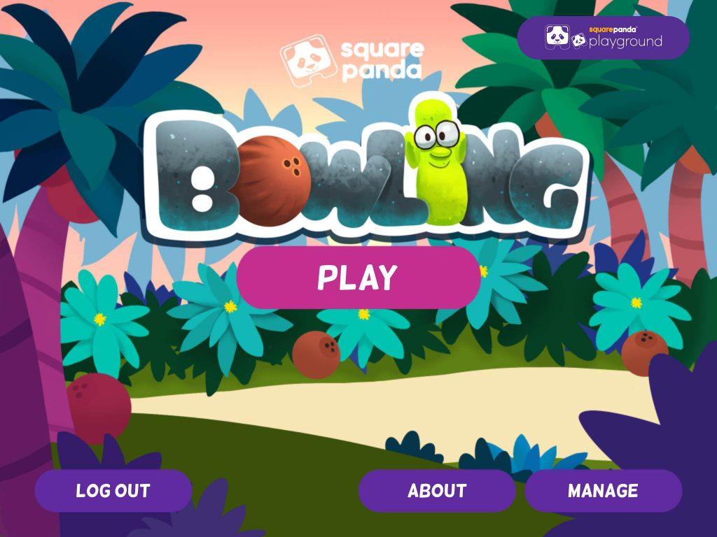 Square Panda Bowling