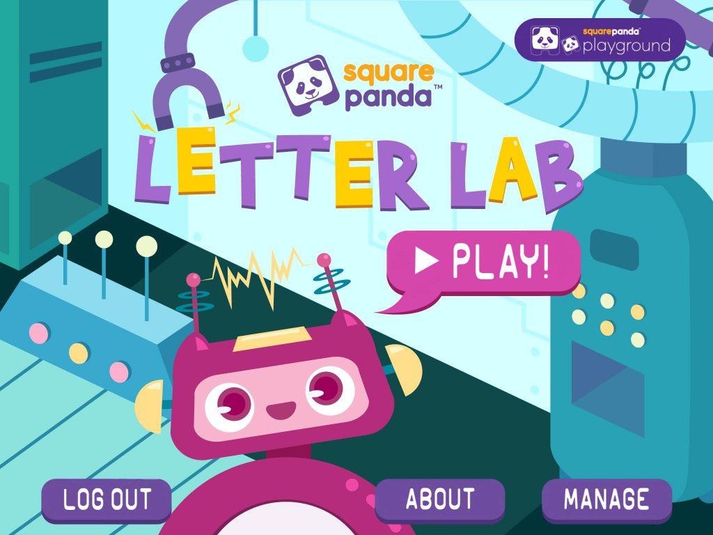 Square Panda Letter Lab