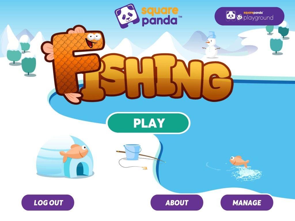 Square Panda Fishing