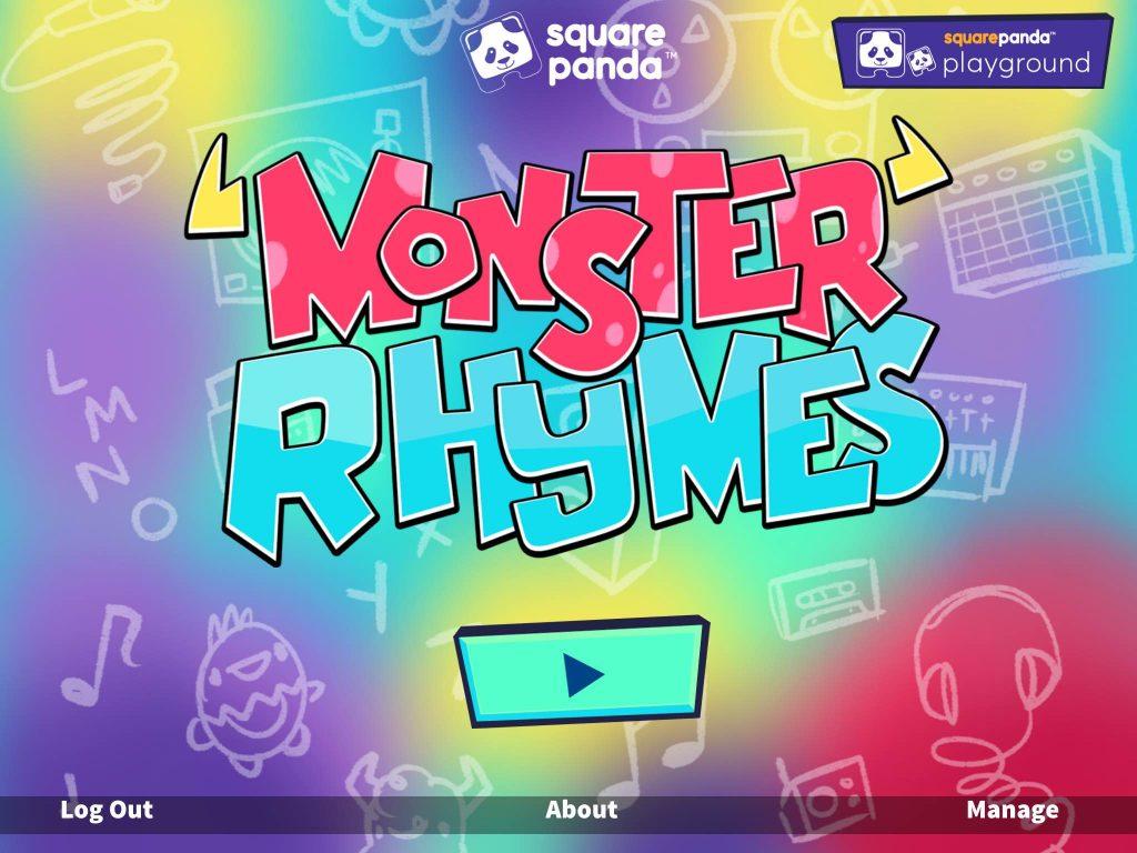 Square Panda Monster Rhymes
