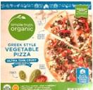 Kroger Simple Truth Organic Greek Style Vegetable Pizza box image