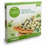 Kroger Simple Truth Organic Spinach & Feta Pizza box image