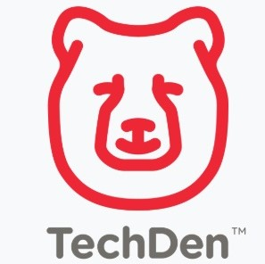 TechDen Bear Head Logo
