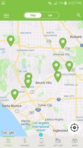 Veggie Grill App Location Finder