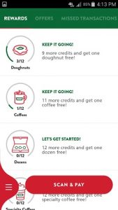 Krispy Kreme App Rewards Tracker