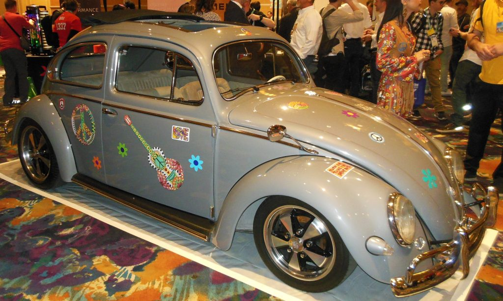 Digital lExperience Gray 1960's VW Beetle