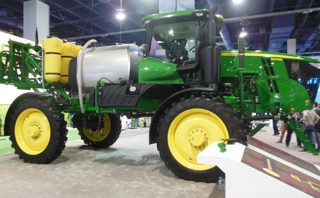 John Deere Farm Equipment at CES 2020
