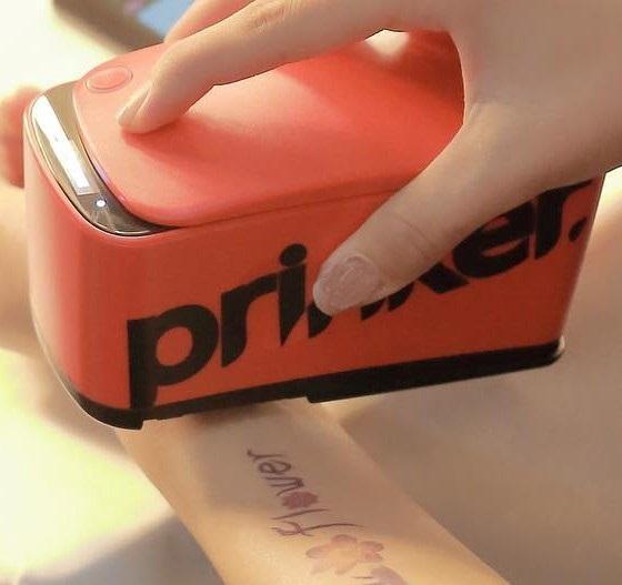 Prinker S Temporary Tatoo Printer