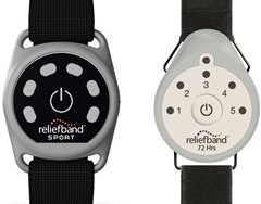 Reliefband Motion Sickness Prevention Device, Sport and Travel Models
