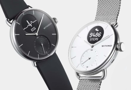 Withings Scanwatch Heart Health Monitor