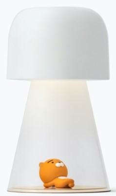 Kakao Friends Smart Lamp and Brian Figure