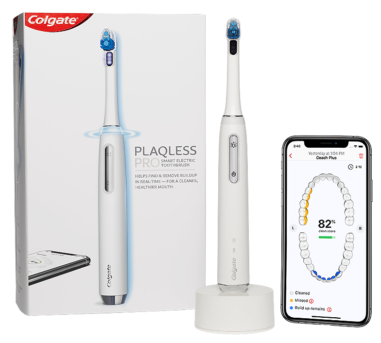 Colgate Plaqless Pro Smart Toothbrush and App