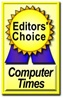Computer Times Editors' Choice logo