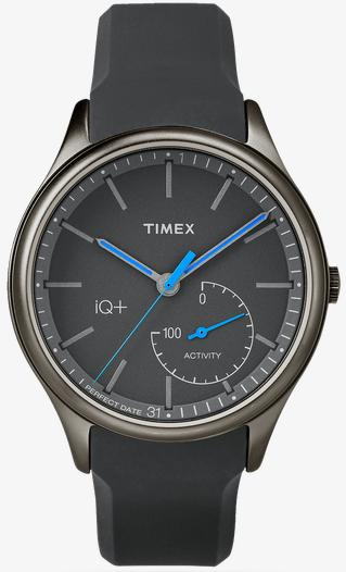 Image of Men's Black Timix IQ+ Move Tracker Watch