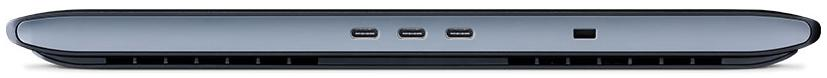 Image is USB-C Ports on side of Wacom Studio Pro 16
