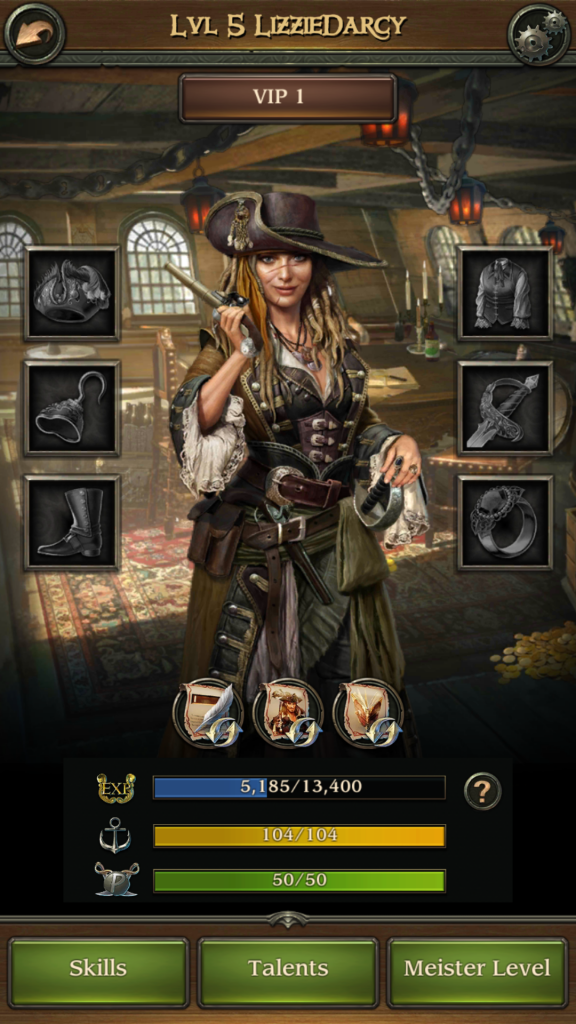 Image of Pirate Avatar in Pirates TOW