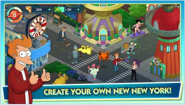 Image of Futurama World of Tomorrow City Building