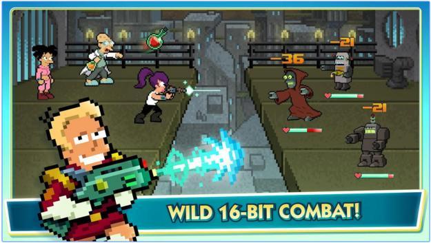 Image of Futurama World of Tomorrow Combat
