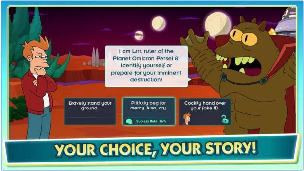 Image of Futurama World of Tomorrow Story Mode