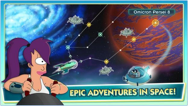Image of Futurama World of Tomorrow Space Exploration