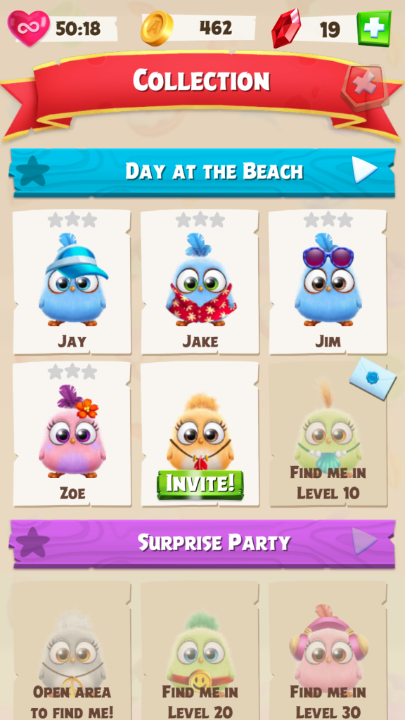 Image of Angry Birds Match Hatchling Collection