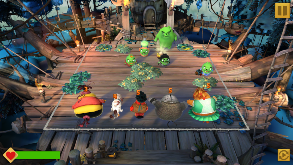 Image of Angry Birds Evolution Battle with Pigs