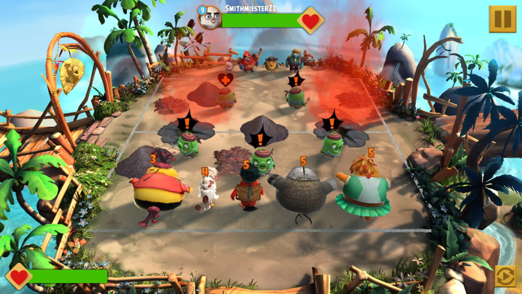 Image of Angry Birds Evolution Player vs. Player Battle