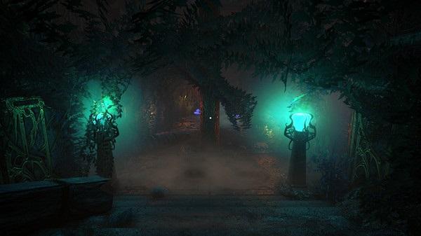 Conarium Screenshot of Mysterious Eerie Garden