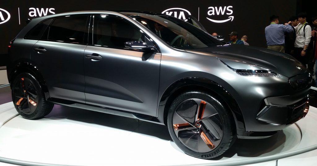 Image of KIA Niro EV Concept Car