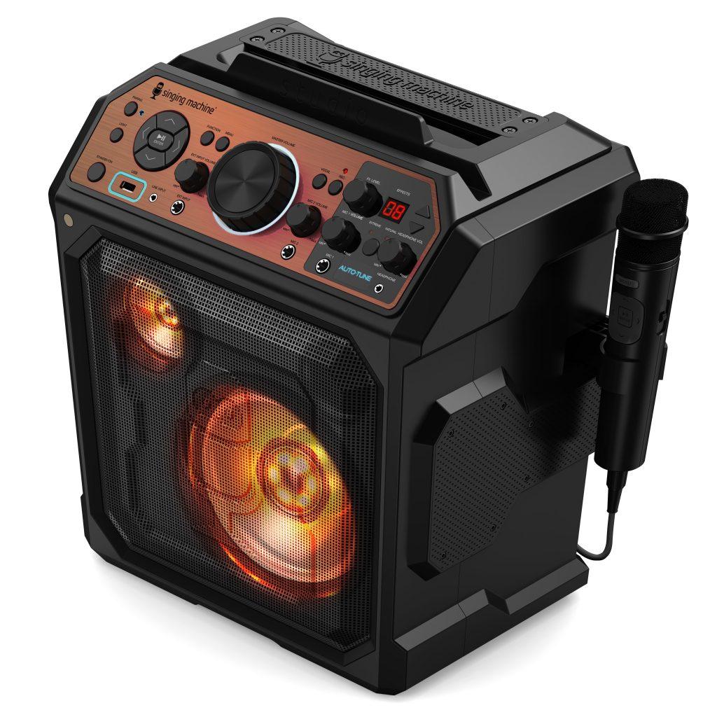 Image of Singing Machine Karaoke Machine with Auto-Tune Software